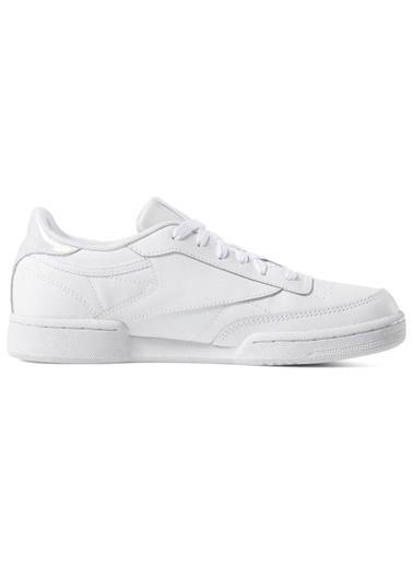 Reebok Unisex Çocuk Beyaz Club  Sneakers DV4528 Beyaz